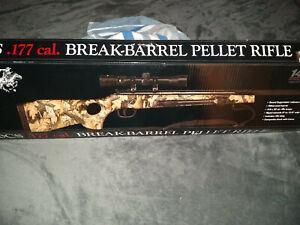 Winchester 1400CS Break-Barrel Pellet Rifle .177 Caliber with Scope and Bi-Pods