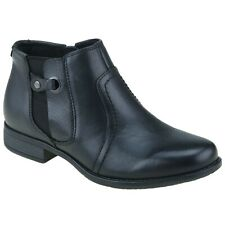 Planet Shoes Comfort Leather RAMSGATE Black