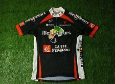 Rare Cycling Shirt Jersey Illes Balears Nalini Caisse D'Epargne Pinarello Size 5