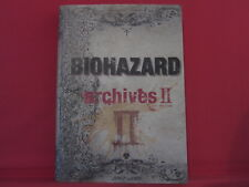 RESIDENT EVIL Biohazard archives #2 analytics illustration art book