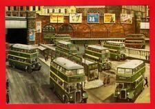 Postcard ~ Salford City Bus Station - AEC Crossley Daimler Leyland - MA Arts B38