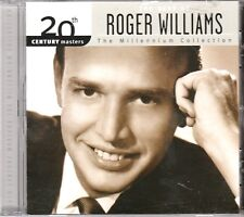 20th Masters Millennium Collection ROGER WILLIAMS CD Classic Country BORN FREE
