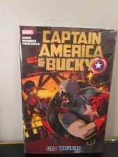 Marvel Captain America & Bucky Old Wounds Hc New Sealed Ed Brubaker~