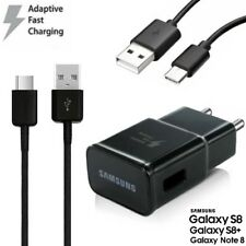 Samsung EP-TA20 Adaptateur Chargeur rapide + Type-C Câble Galaxy S9+ (SM-G965)