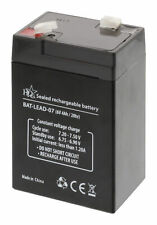 Rechargeable Battery 6V 4AH For Electric Toys - Cars, Models, Boats, Alarms