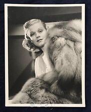 Original 1930 JEAN HARLOW  double weight 10 x 13 (family provenance) NEAR FINE