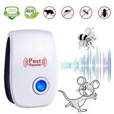 Pest Reject Pro Ultrasonic Repeller Home Bed Bug Mites Spider Defender Roaches