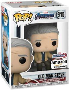 Old Man Steve Funko Pop Captain America 915 Avenger Endgame - Free P&P