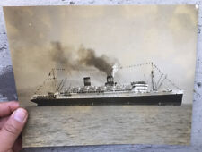 ca.1935 Photo of the Ill-Fated Ship Ss President Hoover of Dollar Steamship Co.