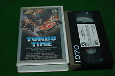 PRE CERT TURBO TIME GRAND PRIX . VIDEO VHS  deleted video RARE