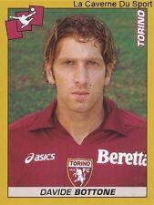 DAVIDE BOTTONE # ITALIA TORINO.FC RARE UPDATE STICKER CALCIATORI 2008 PANINI