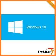 Genuine Microsoft Windows 10 PRO 64Bit Full Version with DSP OEI DVD Disc & Key