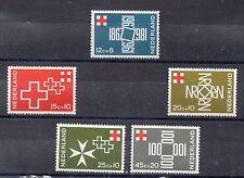 Holanda Centenario Cruz Roja serie del año 1967 (CZ-838)