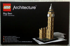 Lego Architecture Bauanleitung für Big Ben 21013 Neu