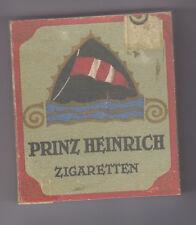 WW1 GERMAN USEABLE PRINZ HEINRICH CIGARETTE PACKET (REPRO)