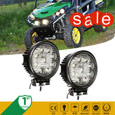 "John Deere Gator Cx Cs Hpx Atv Utv Quad 4Wheeler Led Glow Led Round Light4"" Inch"