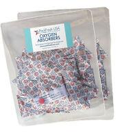 100 x 500cc PackFreshUSA OXYGEN ABSORBERS for long term food storage Mylar bags