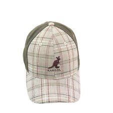 Kangol English Clothing Check and Marl Flexfit Green Hat Cap Size  L/XL