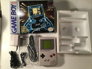 Nintendo Game Boy DMG-01 Launch Edition *RARE* BLUE SWEATER box version - 1989