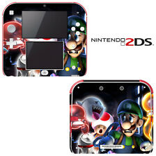 Vinyl Skin Decal Cover for Nintendo 2DS - Super Mario Luigi's Mansion