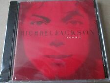 Michael Jackson - Invincible ( CD 2001) RED SLEEVE NEW AND SEALED