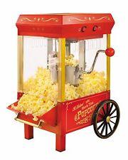 Nostalgia Electrics Kettle Popcorn Maker Popcorn Machine Popper w/ Wheels NEW