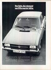 VW-K70-1971-VII-Reklame-Werbung-genuine Advert-La publicité-nl-Versandhandel