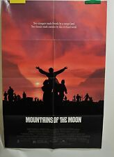 """Mountains of the Moon Poster Movie One Sheet Folded 1990 40"""" x 27"""""""