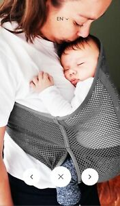 Wallaboo Wrap Carrier Balance Air Breathable & lightweight Mesh with Belt Strap