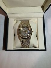 Men's 18k Gold Plated Watch