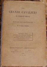 GENERAL THOUMAS. LES GRANDS CAVALIERS DU PREMIER EMPIRE. TROISIEME SERIE. 1907.