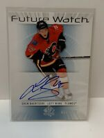 2012-13 Upper Deck SP - Sven Baertsci - Future Watch Autograph - NHL Hockey Card