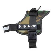 Julius K9 162M0 Powerharness pour chiens, taille 0, Camouflage Harnais Chien Nouveau Secure