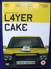 Layer Cake Daniel Craig Sienna Miller 2-Disc DVD UK Region 2 PAL US Ship