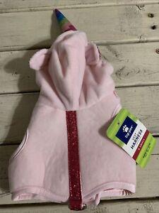 Top Paw Soft Pink UNICORN Dog Puppy Harness XS