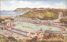 Scarborough;North bay bathing pool; Valentine's artcolour A 733