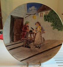 """Cico German Majolica """"Cries of London"""" Charger,"""