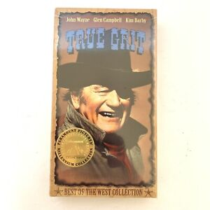 TRUE GRIT (VHS, 1998) John Wayne Glen Campbell Kim Darby NEW FACTORY SEALED