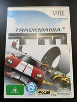 TRACK MANIA TRACKMANIA NINTENDO Wii ORIGINAL AUS PAL RACING GAME MAKE TRACKS