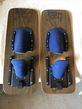 Vintage LAKE REGION Mini Trick Skis 23 Inches Long 9 Inches Wide