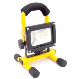 Phare Rechargeable Projecteur Imperméable LED 20W Lumière Blanche Urgence Laptop