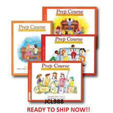 Alfred's Basic Piano Prep  LEVEL A  LESSON THEORY TECHNIQUE 5 Book  SET PACK