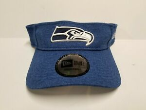 NWT New Era Seattle Seahawks NFL Visor Hat Player Exclusive Pro Bowl Wilson