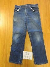 Used Wrangler 85498PS USA stretch grunge jean tag unclear meas 31x28 zip14979