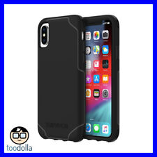 GRIFFIN SURVIVOR Strong ultra thin drop tested protection case, iPhone XS, Black