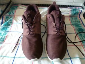 nike roshe run trail suede running shoe size uk 9 great condition