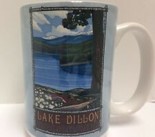 Tree-Free Greetings Lake Dillon Scenic View 15 oz Ceramic Mug w Full-Size Handle