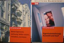 Eigentumswohnung-Auswahl und Kauf & Selbst nutzen,verwalten,vermieten.2 Bücher.