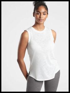 Athleta NWT Women's Breezy Tank Size Small Color White