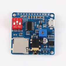 Voice Playback Module MP3 Player UART I/O Trigger Amplifier Board Class D 5W